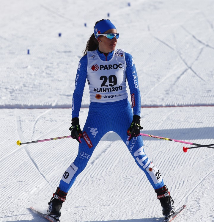 Nordic Ski World Championship 2017. virginia Demartin (ITA). lahti (FIN) 25-02-2017. Photo (Giovanni Auletta Pentaphoto/Mateimage)