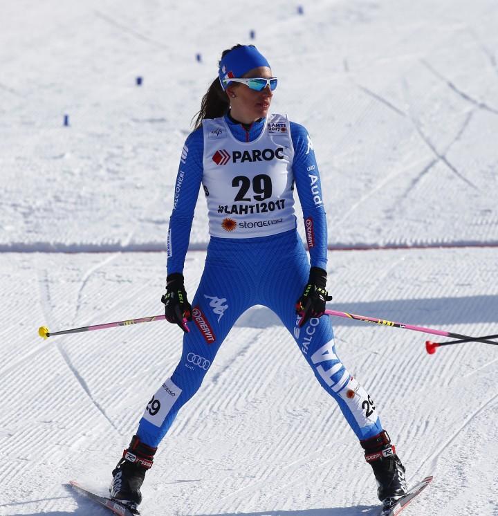 Nordic Ski World Championship 2017. virginia Demartin (ITA). lahti (FIN) 25-02-2017. Photo (Giovanni Auletta Pentaphoto/Mateimage)