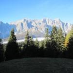 la vista dal rifugio Rinfreddo