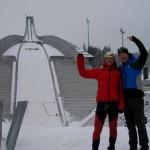 Maury e Beppe ad Holmenkollen
